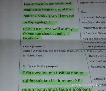 National University of Samoa
