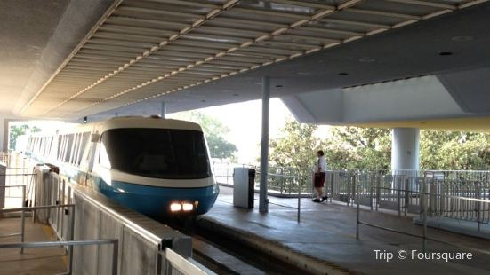 Epcot Monorail Station