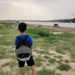 제남 백리 황하 풍경구 여행 사진