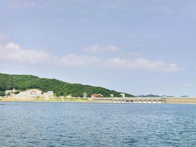 길림 송화호 풍경명승구
