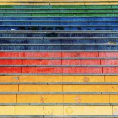 Rainbow Stairs User Photo