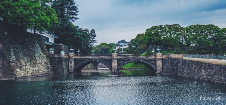 Imperial Palace Main Gate Stone Bridge2