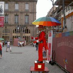 규떵베흐그 광장 여행 사진