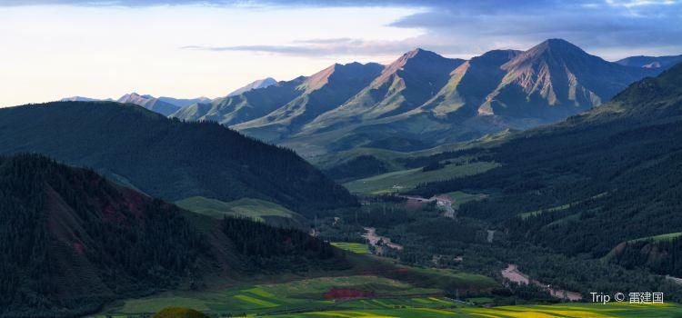 The Qilian Mountain Scenic Area2