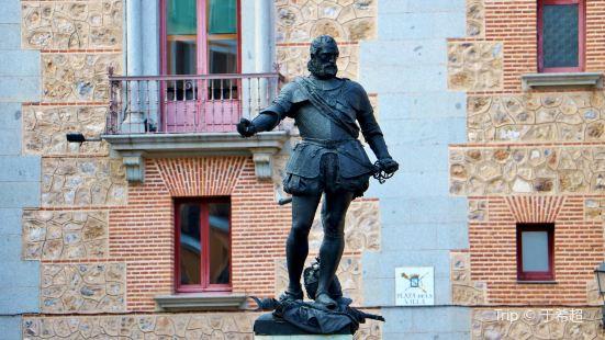 Monumento de Alvaro de Bazan
