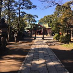시나가와 신사 여행 사진