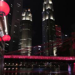 싱가포르 리버 크루즈와 여행 사진