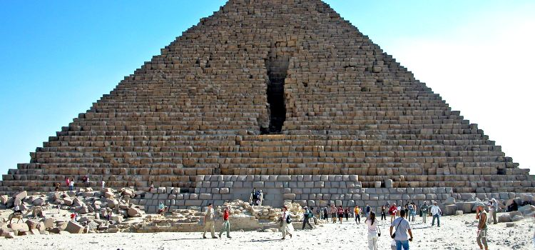 Pyramid of Menkaure3