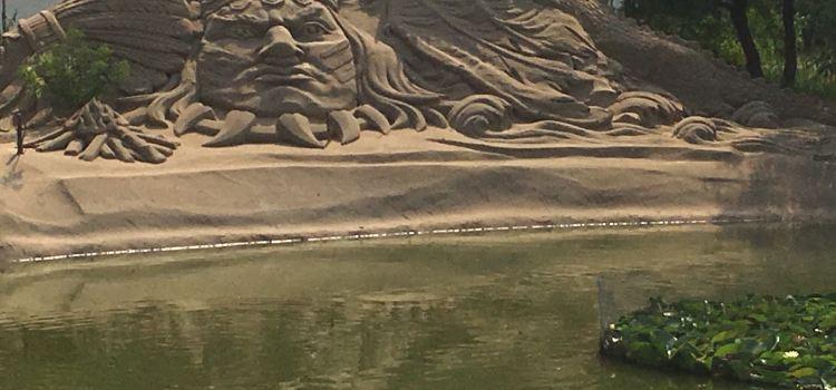 Sand Sculpture Ocean Park2