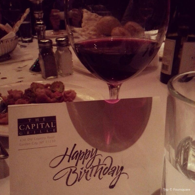 Capital Grille Reviews Food Drinks In New York State East