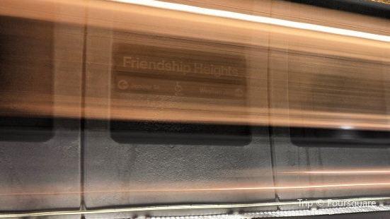 Friendship Heights Metro Station