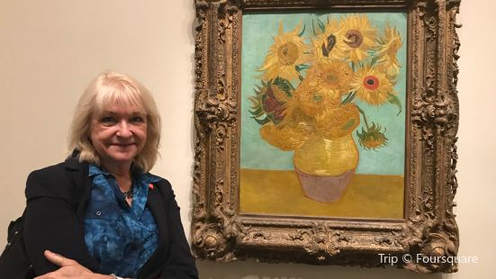 Sunflowers by Vincent Willem van Gogh at the Phila