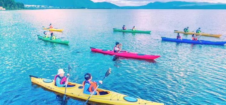 皮划艇漫遊洱海