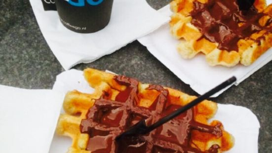 The Smallest Waffle Shop In The World