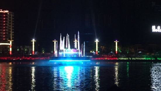 First High-Altitude Fountain in Asia