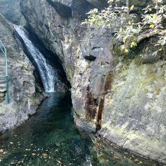 닝보 우룽담 관광지구 여행 사진