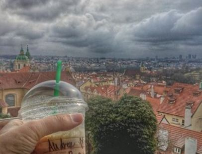 Starbucks Coffee Prague Castle