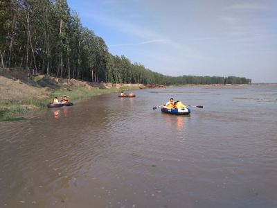 The Yellow River Drifting