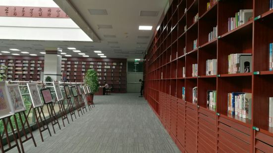寧夏圖書館一樓食堂