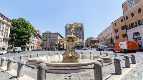 Fountain of Triton and Fountain of the Bees