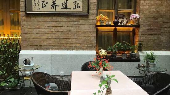 大連賓館庭院咖啡廳
