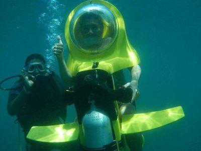 威基基海灘海底摩托之旅