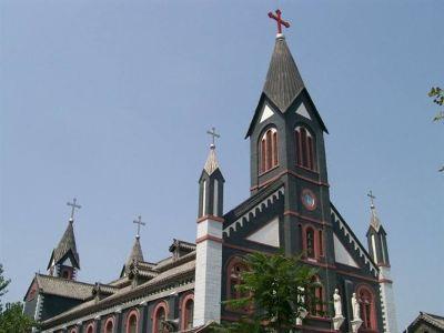 Catholicism Linyi Jiaoqu Wangzhuang Catholic Church
