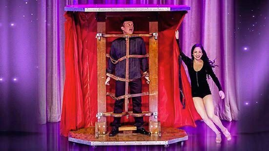 Nathan Burton Magic Show
