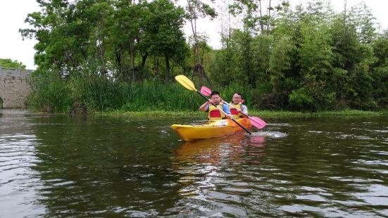 申迪生態園皮划艇體驗