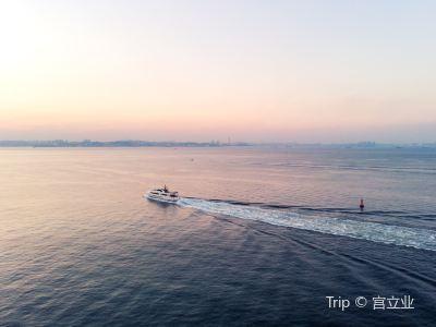獐子島聖亞號遊船出海遊
