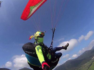 Yansha Hot Air Balloon Paragliding Experience