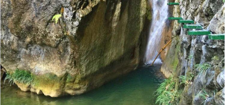 雁山瀑布1