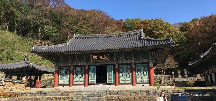 JeungSimSa Temple