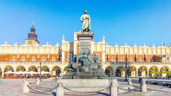 Adam Mickiewicz statue