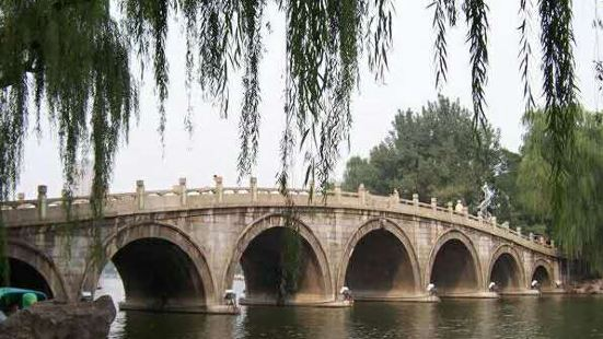 Seven-hole Bridge, Honghe