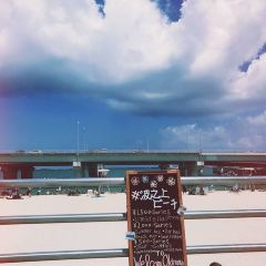 나미노우에 해변 여행 사진