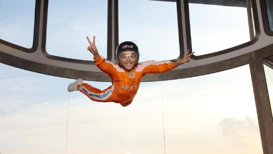 iFLY Indoor Parachuting