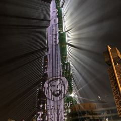 두바이분수 여행 사진