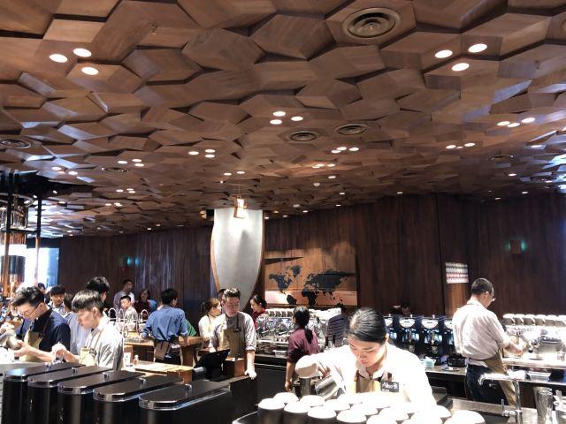Starbucks Reserve Shanghai Roastery