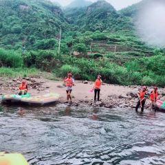 주룽계곡(구룡계) 래프팅 여행 사진