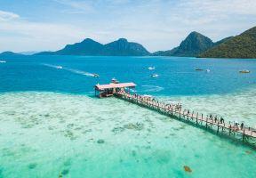 """有生之年系列丨深藏在馬來西亞東海岸的""""海上天堂""""——仙本那"""