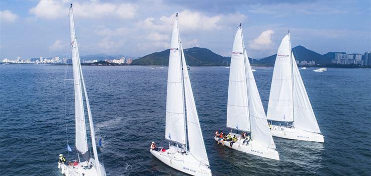 新航家帆船遊艇出海3