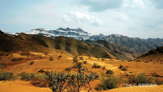 甘德爾山奇峽谷