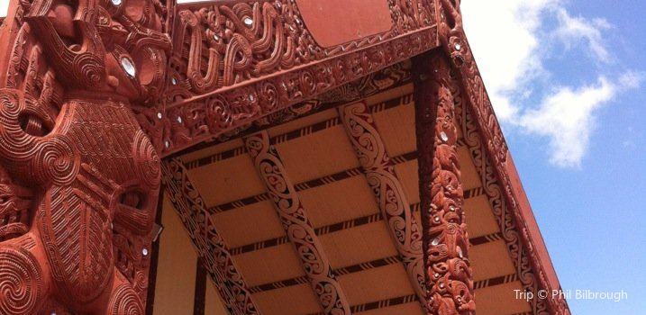 奧希奈姆圖毛利文化村1