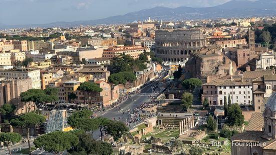 Roma dal Cielo Terrazza delle Quadrighe