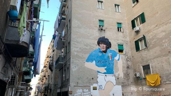 Murales Maradona 1990