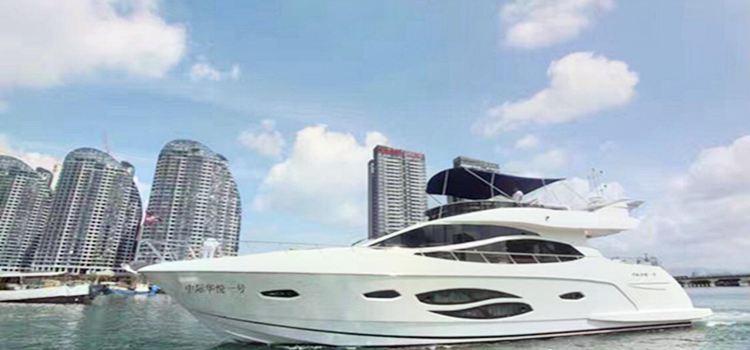 鴻洲國際遊艇會出海體驗
