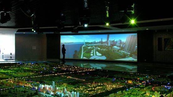 杭州蕭山城市規劃展示館