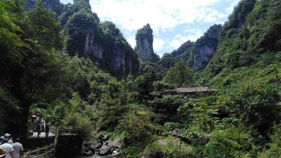 清江方山景観地