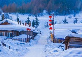 黑龍江的雪鄉已經開園,不宰客的雪鄉還是很美的
